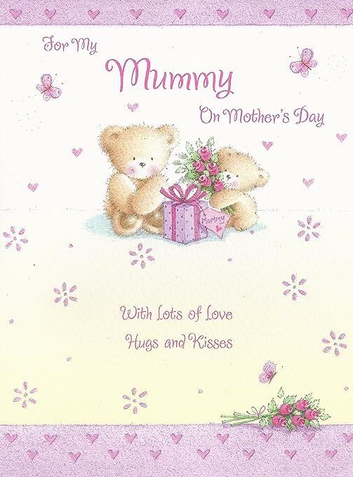 Para mi mamá el día de la madre tarjeta: Amazon.es: Hogar