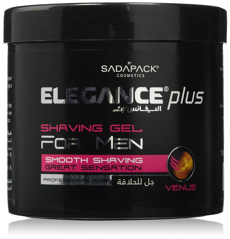 Elegance Plus Shaving Gel, Jupiter, 500 ml