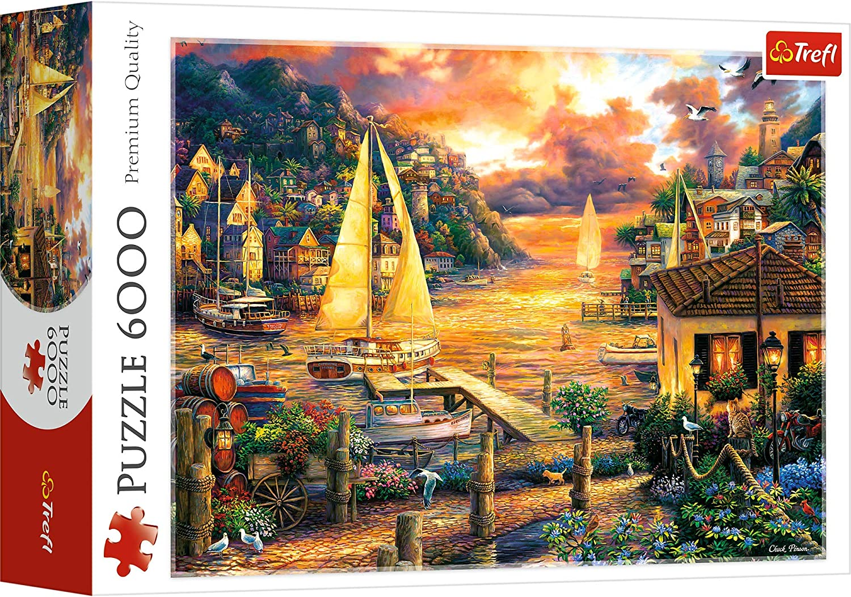Trefl- Puzzles 6000 Puzzels, Color Coloreado (65005): Amazon.es: Juguetes y juegos