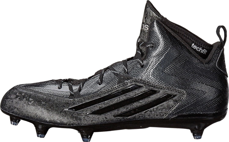 Amazon com Adidas Crazyquick 2 0 Mid D Mens Football Cleats 12 5 Black Titanium Fitness Cross Training