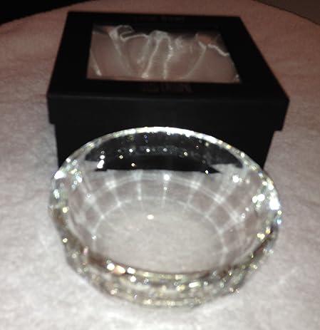 Amazon Oleg Cassini Crystal Bowl Preston New In Box Home