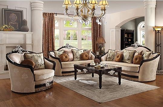 Amazon.com: Acme Furniture Sofa w/12 Pillows: Kitchen & Dining