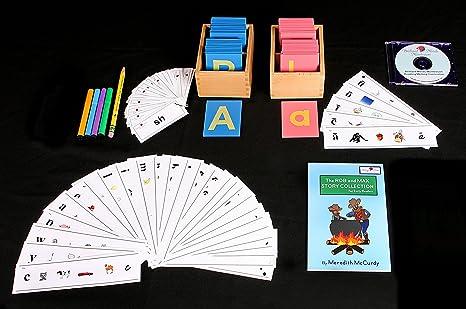 Amazon.com: Brilliant Minds Montessori Reading and Writing Kit by ...