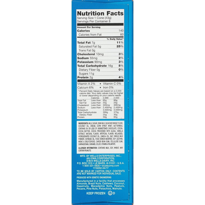 Blue Bunny Mini Swirls Vanilla Ice Cream Cone 8 Ct Frozen Amazon Grocery Gourmet Food