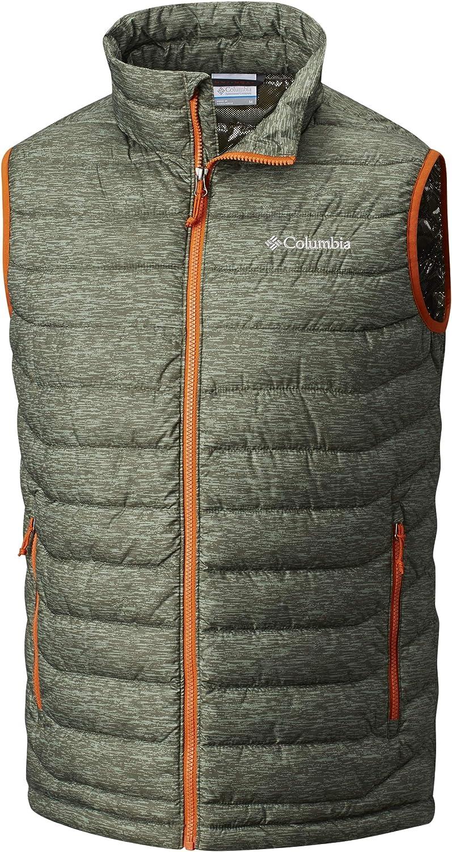POWDER LITE VEST Columbia Men/'s Hooded Puffer Jacket Polyester