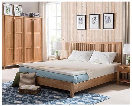 Alveo estándar colchón de espuma Topper (Twin, Full, Queen, king tamaños): Amazon.es: Juguetes y juegos