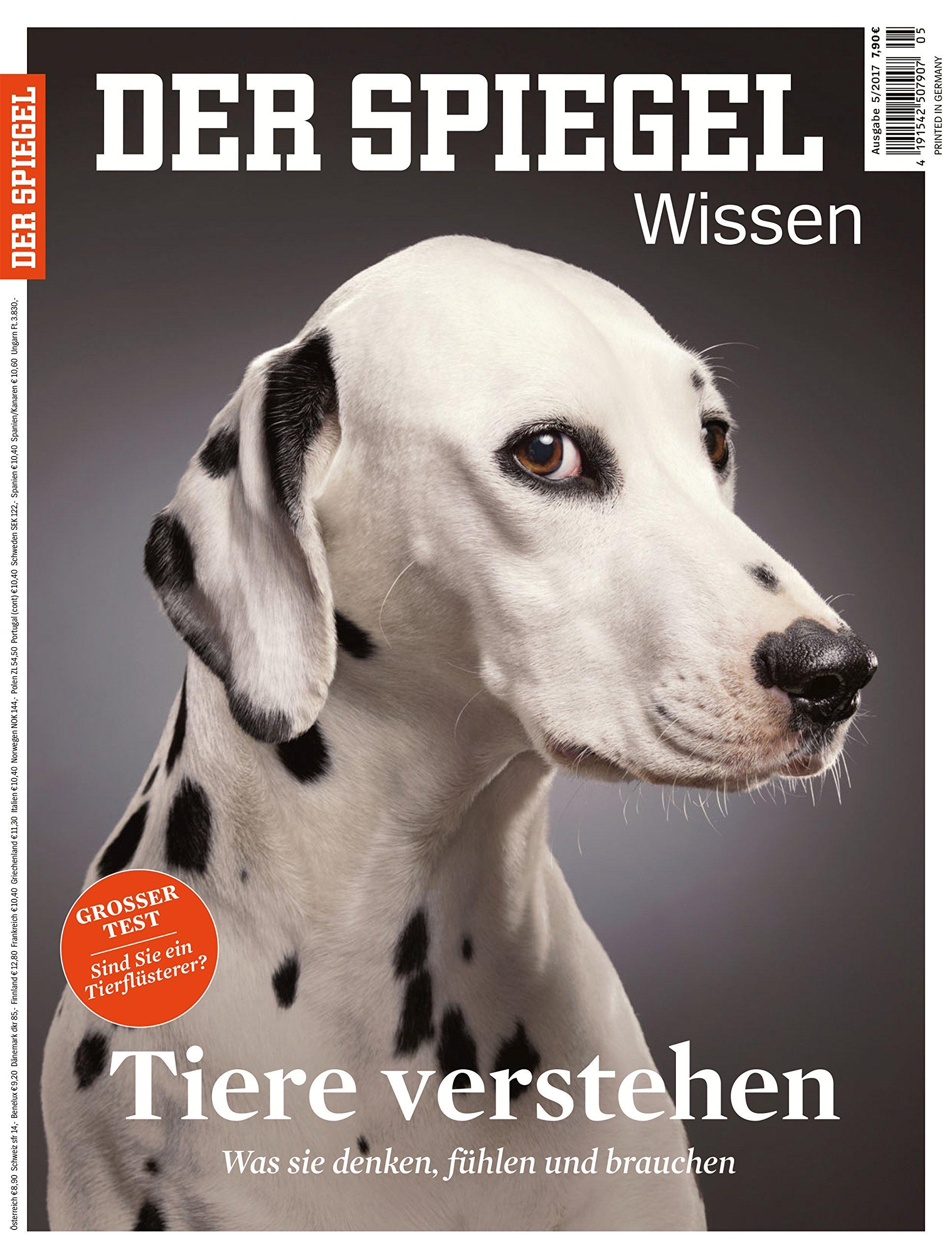 Goede SPIEGEL WISSEN 5/2017: Tiere verstehen Cover Bild kann abweichen ZL-74