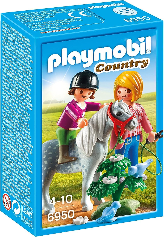PLAYMOBIL Granja de Ponis - Paseo con Poni (6950)