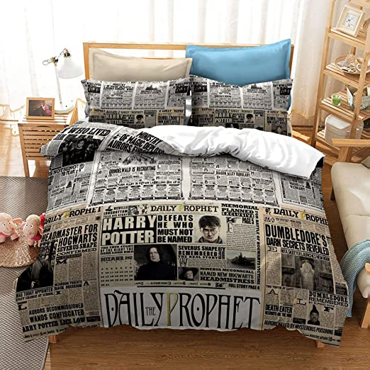 Amazon.com: Bedding Duvet Cover King Size Hypoallergenic Harry