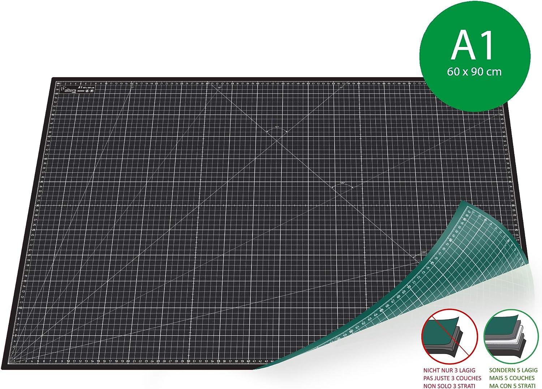A5 21 x 14.8 CM 3mm 3 BONDED LAYERS NON SLIP CUTTING MAT SELF-HEALING NEW