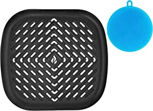 Air Fryer Grill Pan XXL Accessory Compatible with Philips, NuWave Brio, Chefman, GoWise, Cozyna, Emerald, Power Air Fryer, Maxi Matic Elite, Secura, Habor + More | by Infraovens
