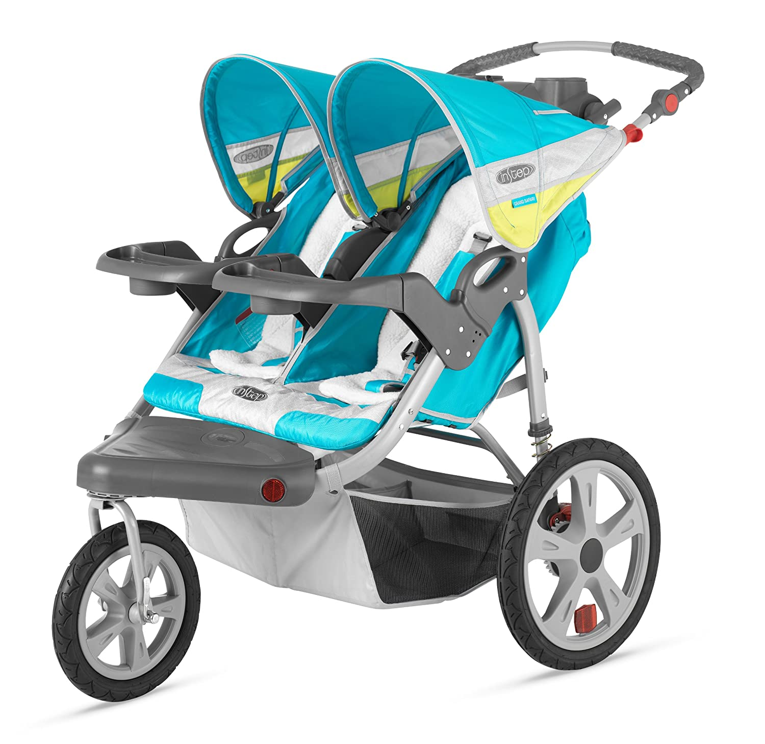 InStep Arrow Fixed Wheel Double Jogger