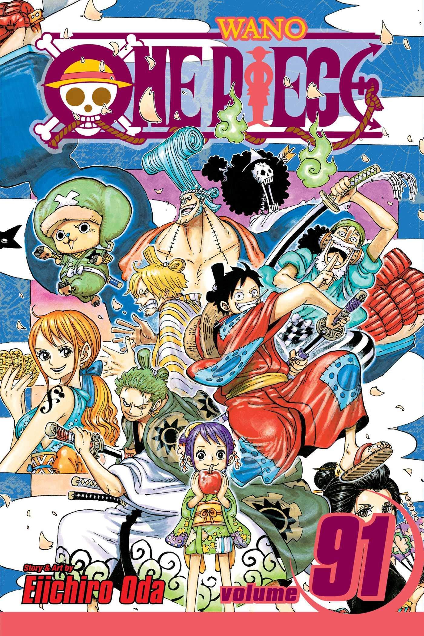 One Piece Vol 91 Adventure In The Land Of Samurai Amazon De Oda Eiichiro Oda Eiichiro Fremdsprachige Bucher