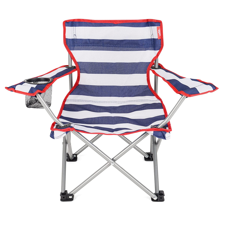 Yello Kids' Sailboats Beach Folding Chair, Blue, 53 x 35 x 35 cm OL0041