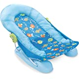 Summer Infant Large Comfort Baby Bather, Bubble Fish