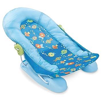 Amazon.com : Summer Infant Large Comfort Baby Bather, Bubble Fish ...