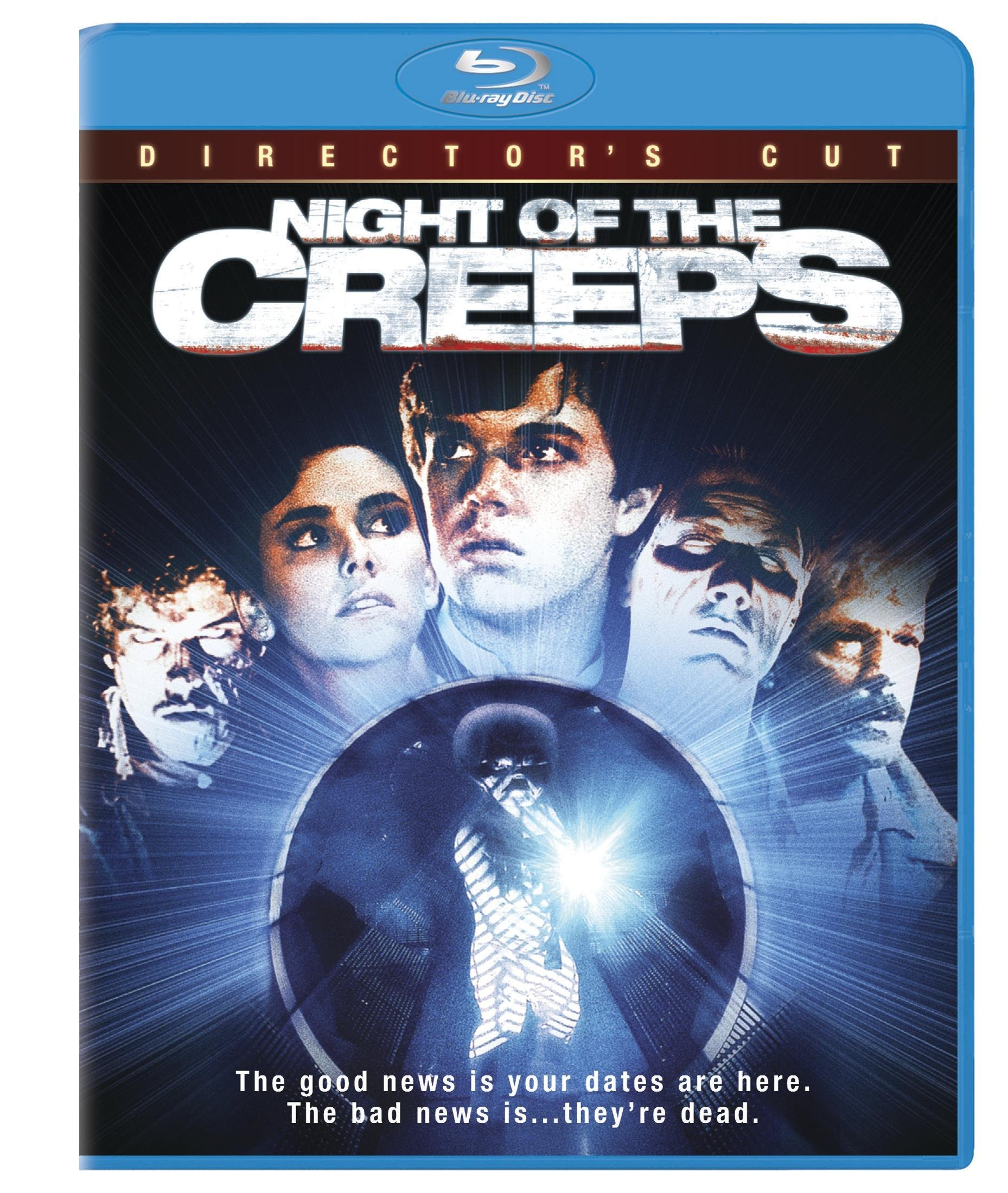 Blu-ray : Night Of The Creeps [Widescreen] [Unrated] (Dolby, AC-3, Unrated Version, , Widescreen)