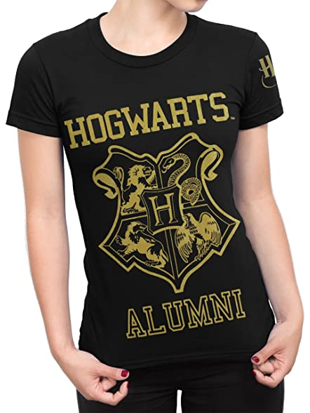 Harry Potter Womens Hogwarts T-Shirt Size Small