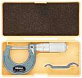 Mitutoyo 103-135 Outside Micrometer, Friction