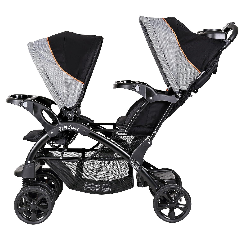 Amazon Baby Trend Double Sit N Stand Stroller Millennium Orange Baby