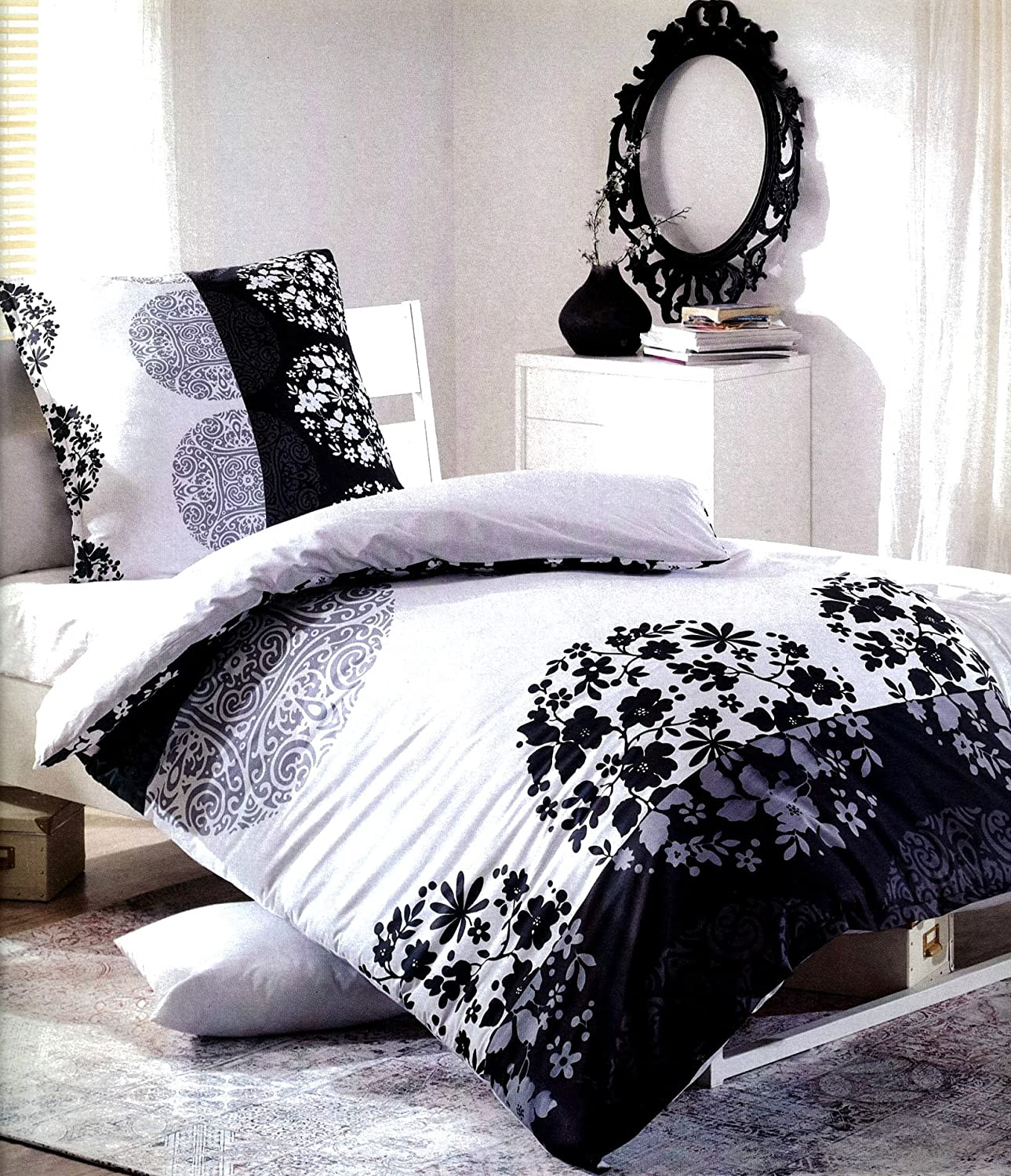 wei e bettw sche 155x220 amazon bettdecken 200 x joop bettw sche cornflower real madrid. Black Bedroom Furniture Sets. Home Design Ideas