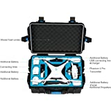 DJI Phantom 4 Waterproof Case Rugged Military Grade, Extra Protection, Phantom 4 Pro Case, Phantom 4 Advanced Case, Koozam Products