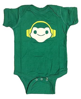 3009db0213c5 Amazon.com  Overwatch Lucio Step To This Onesie  Clothing