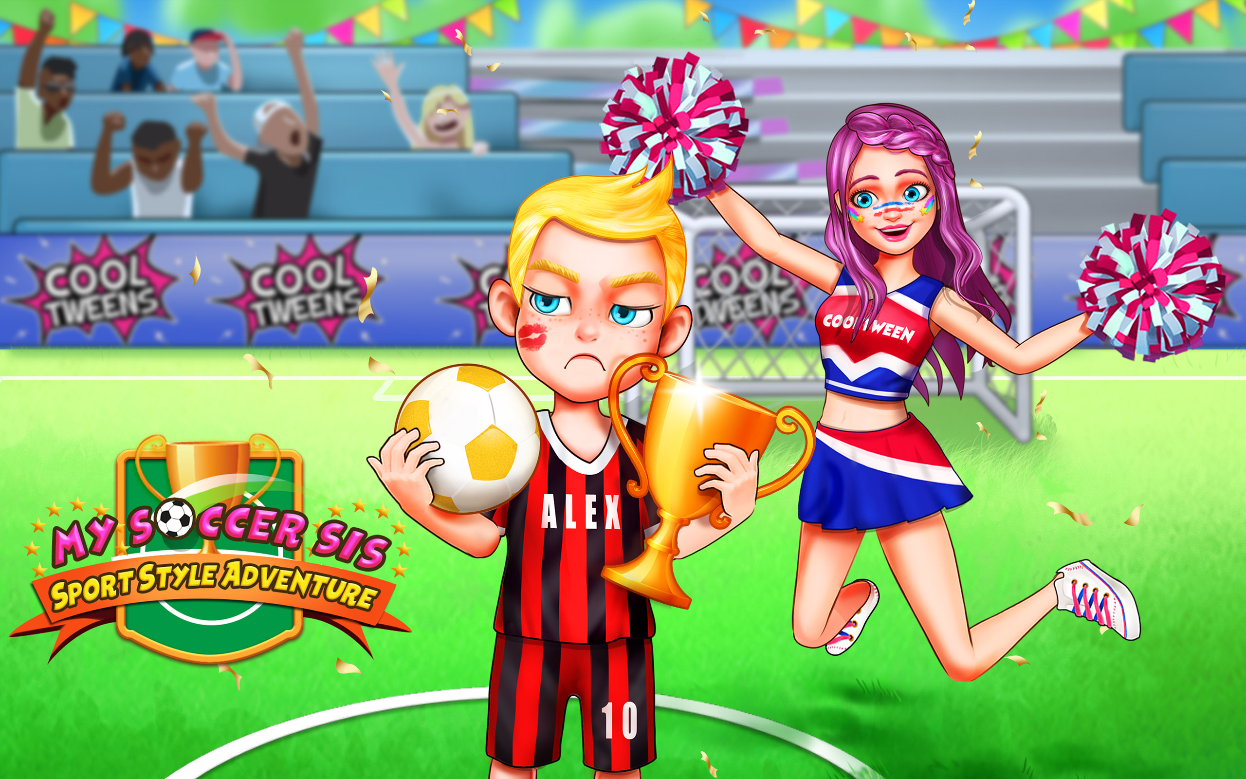 Soccer Day with Sister - Play Sports: Amazon.es: Appstore para Android
