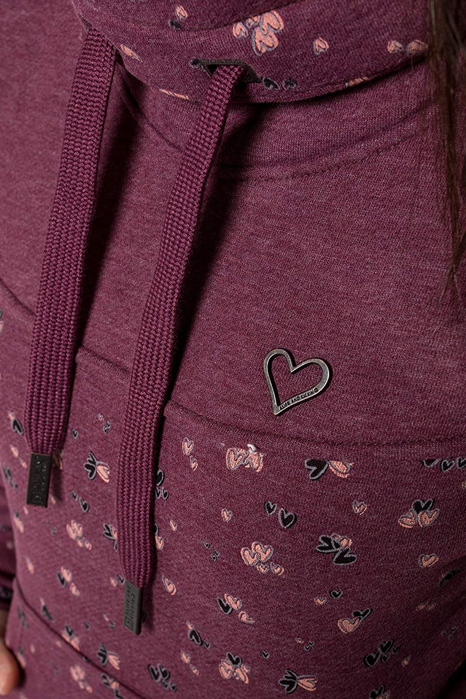 Alife and Kickin SunshineAK Sweatshirt Damen Sweater mit Kragen XS-XXL Grape