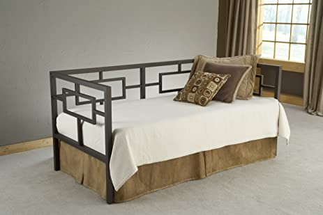 Amazon.com: Hillsdale Chloe Bed with Suspension Deck, Bronze ...