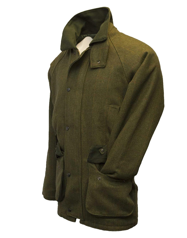 Chaqueta para hombre Walker & Hawkes, chaqueta de caza, color salvia: Amazon.es: Ropa y accesorios