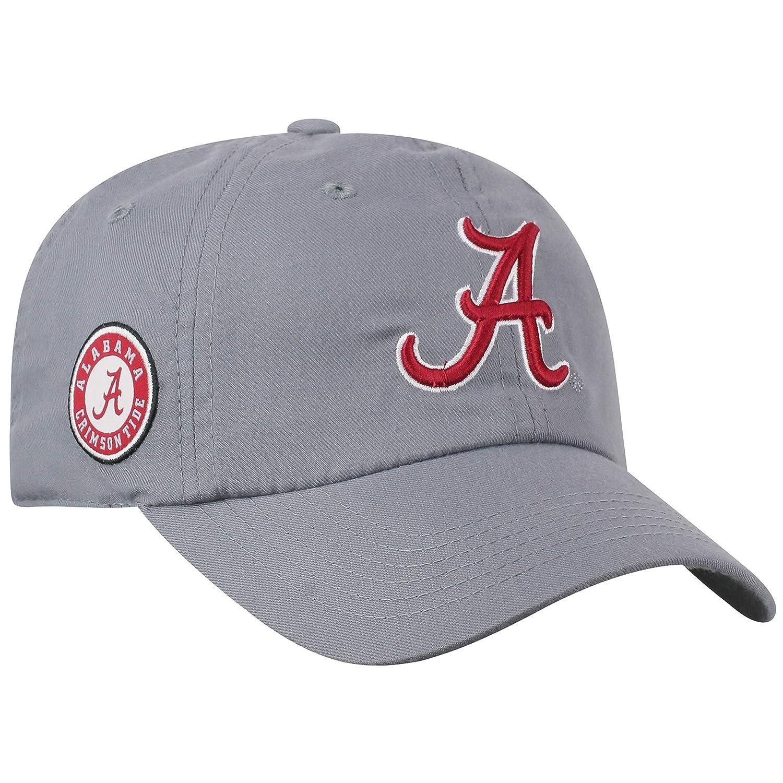 NCAA Adjustable Orange Curved Bill Staple 4 Hat Cap