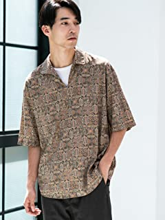 Cotton Rayon Pullover Shirt 3216-699-1299: Dark Brown
