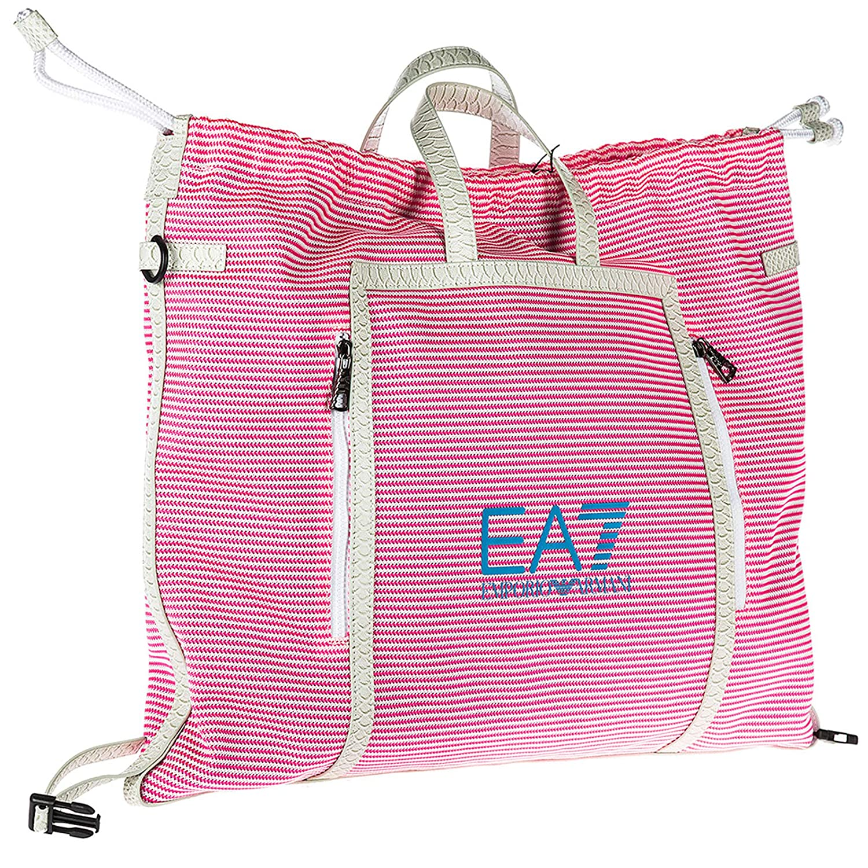 708799cd050 Amazon.com  Emporio Armani EA7 women beach bag rosa  Shoes