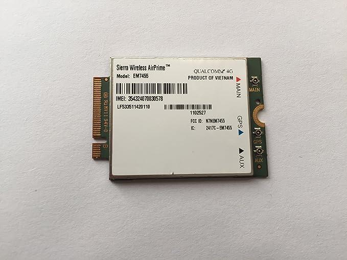 SIERRA WIRELESS AIRPRIME EM7455 QUALCOMM 4G LTE WWAN CARD MODULE BRAND NEW