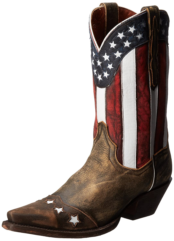 Dan Post Women's Liberty Western Boot B00HREWGBI 8 B(M) US|Tan