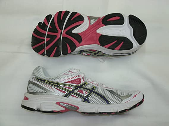 ASICS Gel Ikaia 5 Womens running shoes White Purple Pink YCS (4 ...