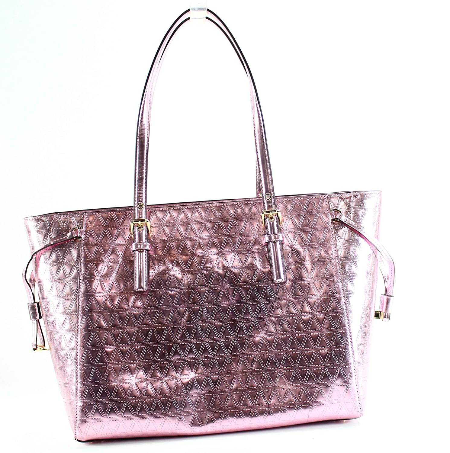 35e084963b1335 Amazon.com: MICHAEL Michael Kors Voyager Medium Multifunction Top-Zip Tote  (Soft Pink): Shoes