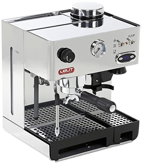 Lelit PL042TEMD Independiente Manual Máquina espresso 2.7L 2tazas Acero inoxidable - Cafetera (Independiente,