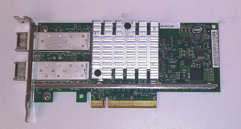 PCI-E Intel X520-SR2 2-Port 10G SFP PCI-e E10G42BFSR 82599ES Converged Network Adapter Ethernet
