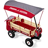 Radio Flyer Build-A-Wagon Steel & Wood - Air Tires, Canopy, Storage, Luxe Fashion