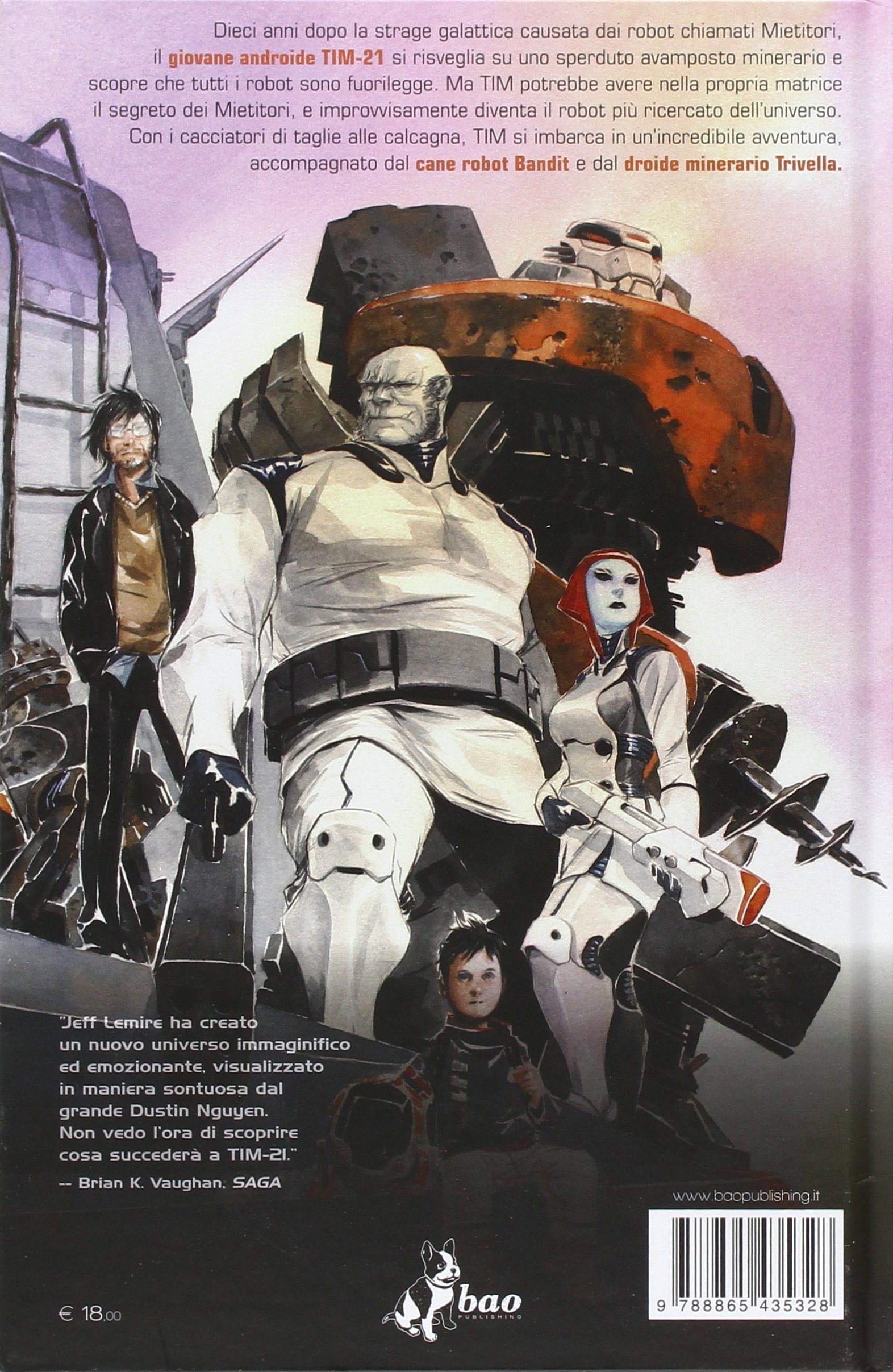 Descender: 1: Amazon.it: Lemire, Jeff, Nguyen, Dustin, Foschini, M., Favia,  L.: Libri