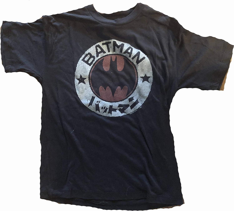 Junk Food Boys Batman Asian Logo T-Shirt Youth Small Black