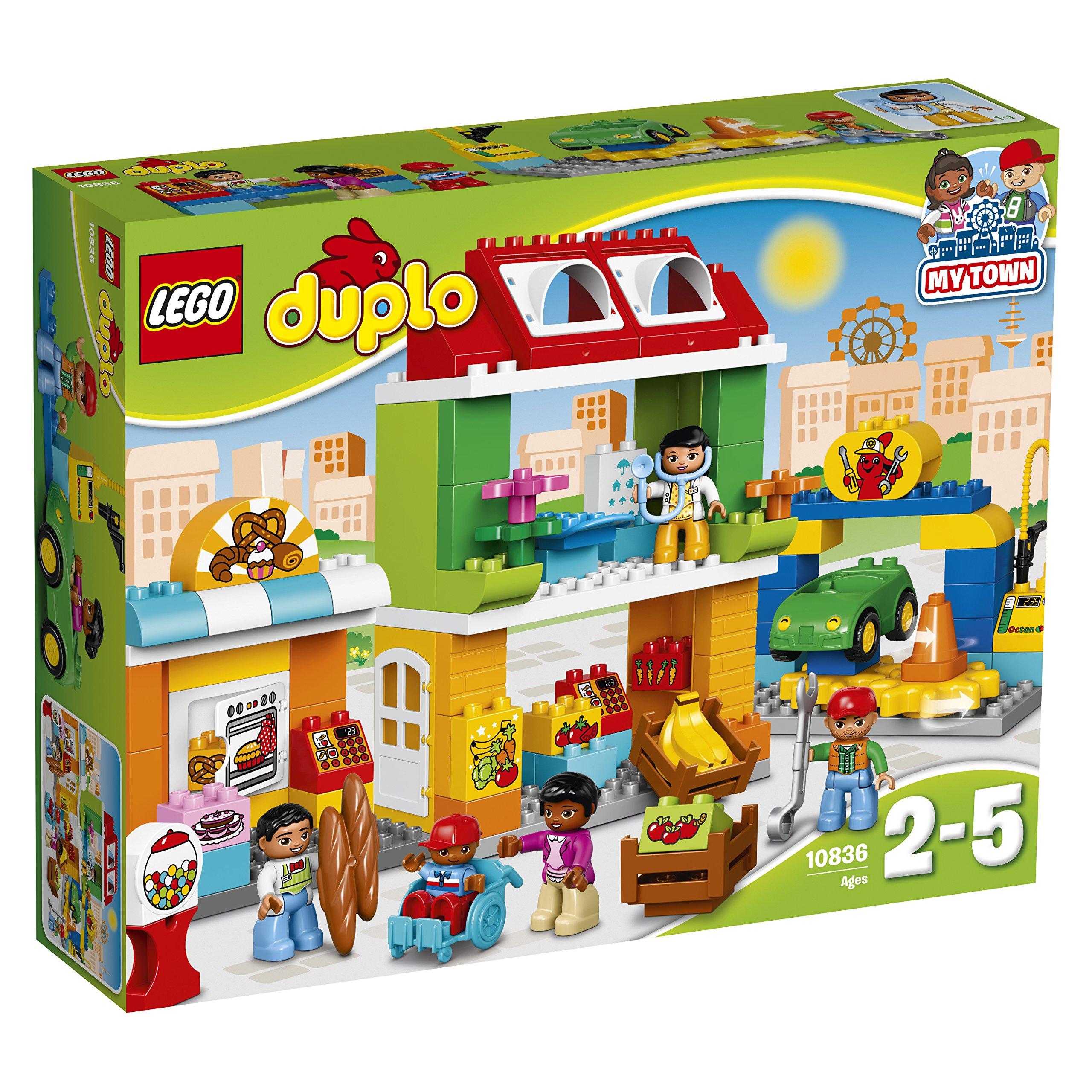 Lego 10836 Town Square Building Set 5702015865616 Ebay