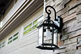Trans Globe Lighting 4181 BK Outdoor Wentworth
