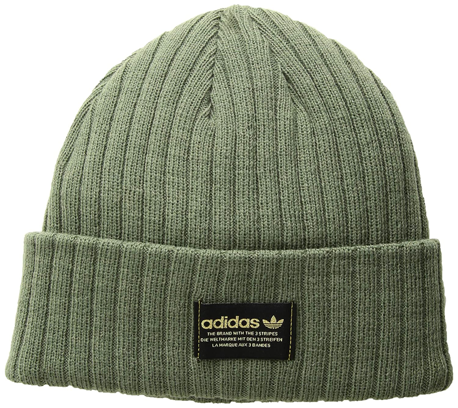 5373ddc63e7bf Amazon.com  adidas Men s Originals Rib Beanie