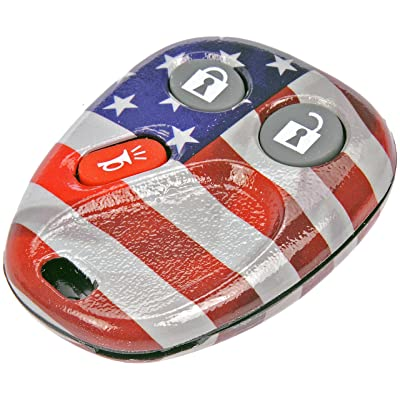 Dorman 13618US American Flag Keyless Remote Case: Automotive