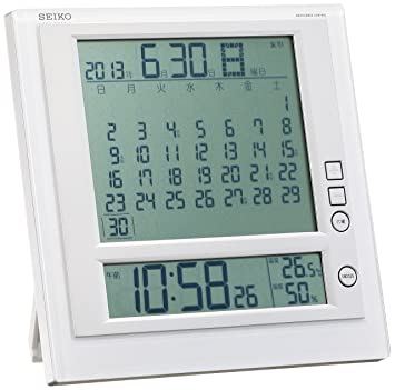 Amazon.com: SEIKO CLOCK ( Seiko clock ) hanging clock table clock ...