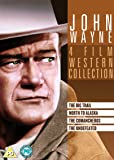 John Wayne Box Set (Undefeated/The Comancheros/The North to Alaska/The Big Trail) [DVD]