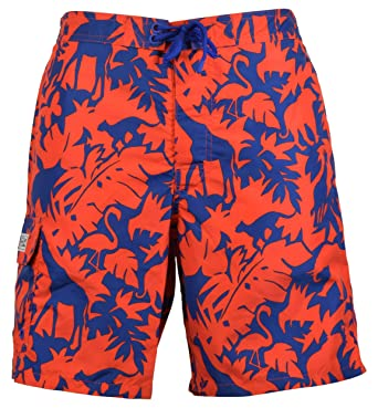 dcfba3b98 Polo Ralph Lauren Safari Tropical Print Kailua 8 1 2 quot  Swim Trunks - M